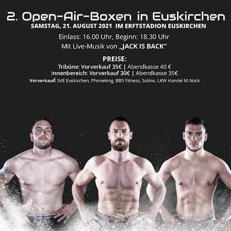 Open-Air-Boxen • Boxschule-Blindert